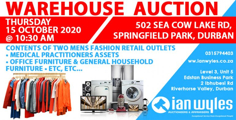 IAN WYLES FB WAREHOUSE AUCTION