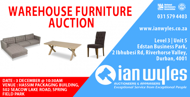 IW FB Warehouse Auction 3 December 2020